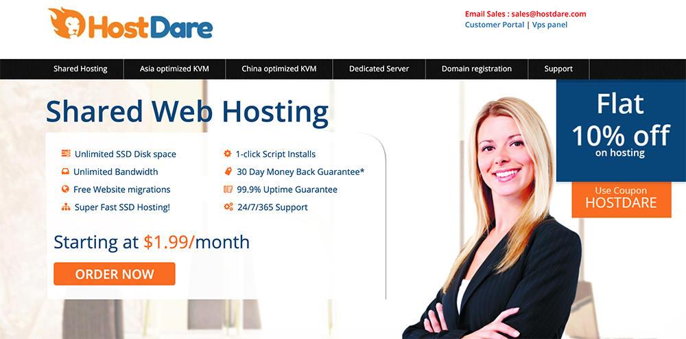 hostdare官方网站