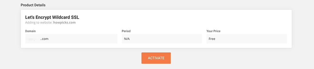 siteground主机激活SSL证书服务