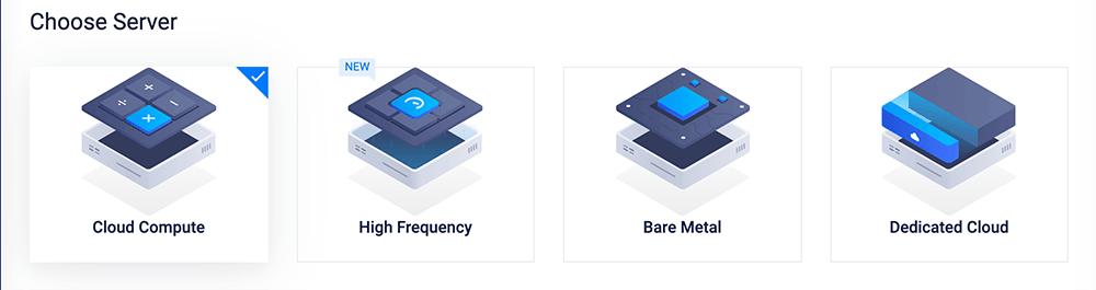 vultr选择服务器类型
