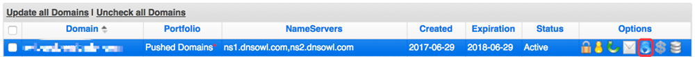 Namesilo域名解析DNS修改