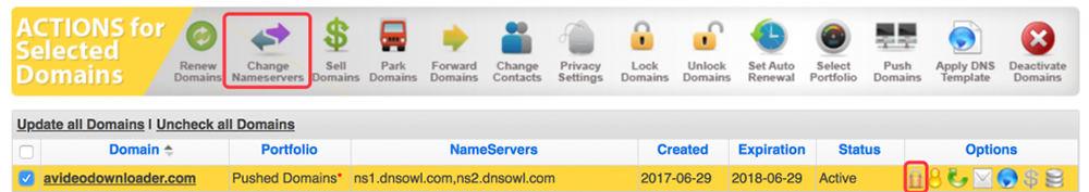 Namesilo域名DNS修改