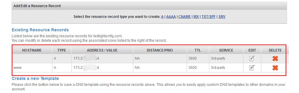 Namesilo域名DNS解析成功