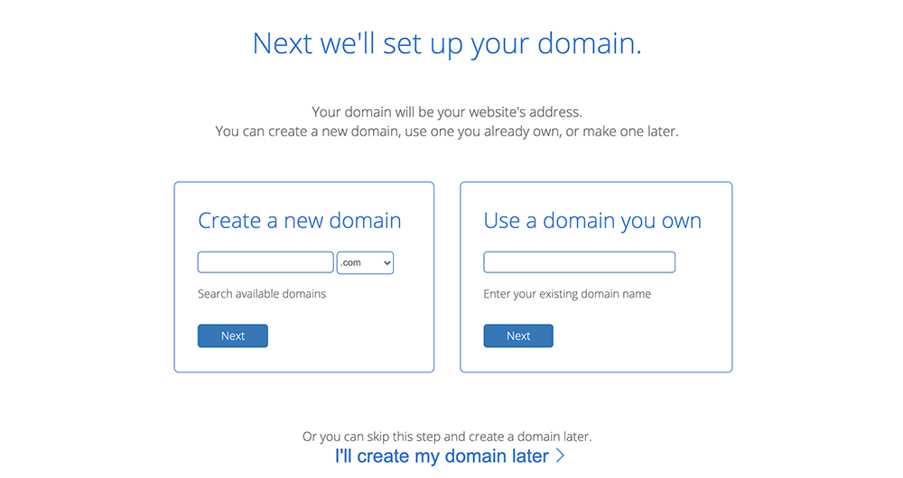 bluehost主机添加域名