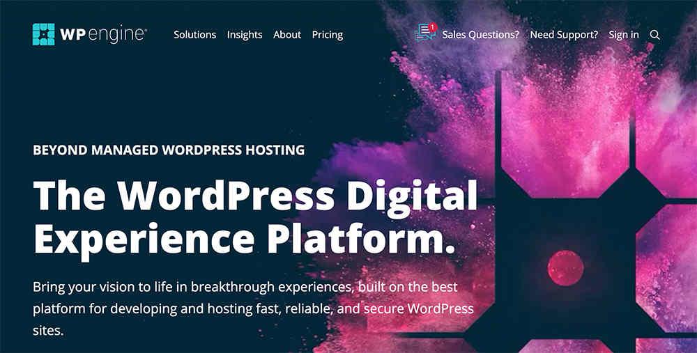 wpengine官方网站